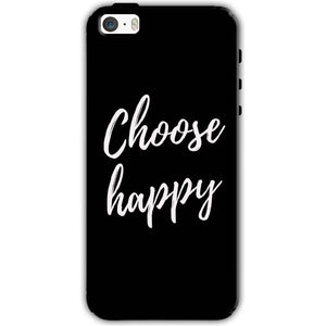 Apple iPhone SE Mobile Covers Cases Choose happy - Lowest Price - Paybydaddy.com