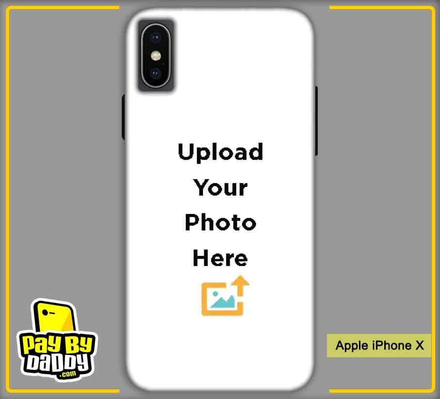 Customized Apple iPhone X Mobile Phone Covers & Back Covers with your Text & Photo