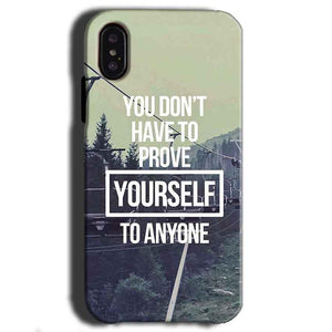 Apple iPhone X Mobile Covers Cases Donot Prove yourself - Lowest Price - Paybydaddy.com