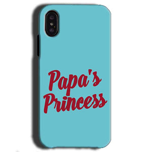 Apple iPhone X Mobile Covers Cases Papas Princess - Lowest Price - Paybydaddy.com