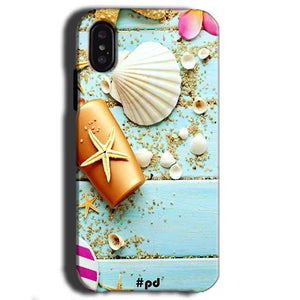 Apple iPhone X Mobile Covers Cases Pearl Star Fish - Lowest Price - Paybydaddy.com