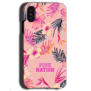 Apple iPhone X Mobile Covers Cases Pink nation - Lowest Price - Paybydaddy.com