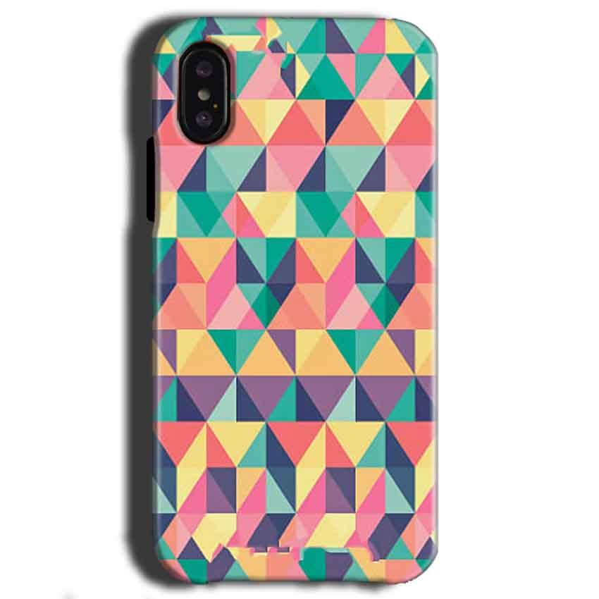 Apple iPhone X Mobile Covers Cases Prisma coloured design - Lowest Price - Paybydaddy.com