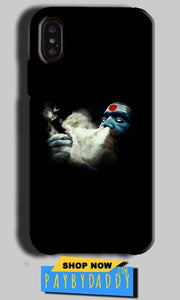 Apple iPhone X Mobile Covers Cases Shiva Aghori Smoking - Lowest Price - Paybydaddy.com