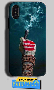 Apple iPhone X Mobile Covers Cases Shiva Hand With Clilam - Lowest Price - Paybydaddy.com