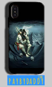 Apple iPhone X Mobile Covers Cases Shiva Smoking - Lowest Price - Paybydaddy.com