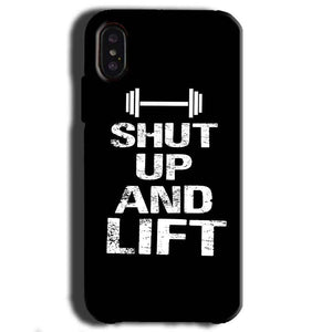 Apple iPhone X Mobile Covers Cases Shut Up And Lift - Lowest Price - Paybydaddy.com