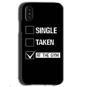 Apple iPhone X Mobile Covers Cases Single Taken At The Gym - Lowest Price - Paybydaddy.com