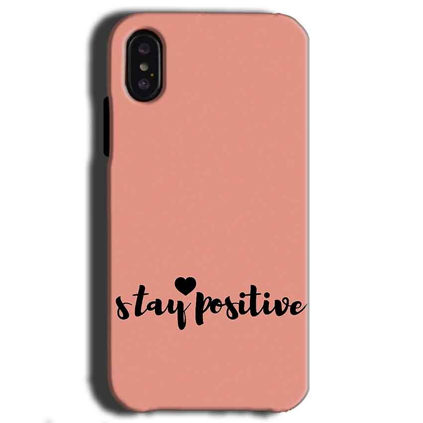 Apple iPhone X Mobile Covers Cases Stay Positive - Lowest Price - Paybydaddy.com