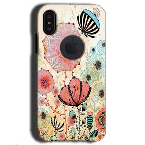 Apple iPhone X With Apple Cut Mobile Covers Cases Deep Water Jelly fish- Lowest Price - Paybydaddy.com