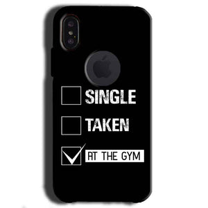 Apple iPhone X With Apple Cut Mobile Covers Cases Single Taken At The Gym - Lowest Price - Paybydaddy.com