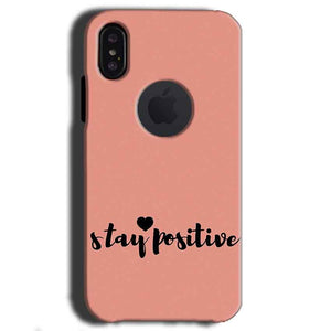 Apple iPhone X With Apple Cut Mobile Covers Cases Stay Positive - Lowest Price - Paybydaddy.com