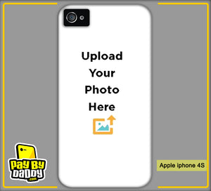 Customized Apple iPhone 4 4s Mobile Phone Covers & Back Covers with your Text & Photo