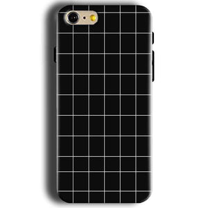 Apple iphone 5 5s Mobile Covers Cases Black with White Checks - Lowest Price - Paybydaddy.com