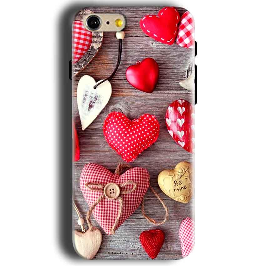 Apple iphone 5 5s Mobile Covers Cases Hearts- Lowest Price - Paybydaddy.com