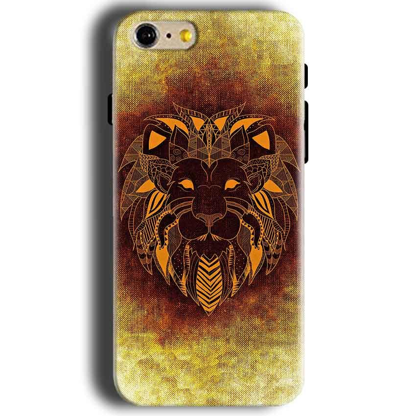 Apple iphone 5 5s Mobile Covers Cases Lion face art - Lowest Price - Paybydaddy.com