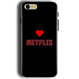 Apple iphone 5 5s Mobile Covers Cases NETFLIX WITH HEART - Lowest Price - Paybydaddy.com
