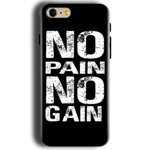 Apple iphone 5 5s Mobile Covers Cases No Pain No Gain Black And White - Lowest Price - Paybydaddy.com
