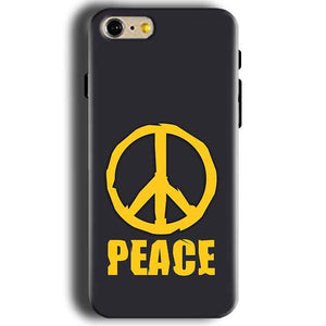 Apple iphone 5 5s Mobile Covers Cases Peace Blue Yellow - Lowest Price - Paybydaddy.com