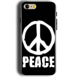 Apple iphone 5 5s Mobile Covers Cases Peace Sign In White - Lowest Price - Paybydaddy.com