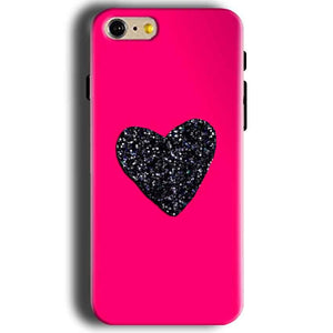 Apple iphone 5 5s Mobile Covers Cases Pink Glitter Heart - Lowest Price - Paybydaddy.com