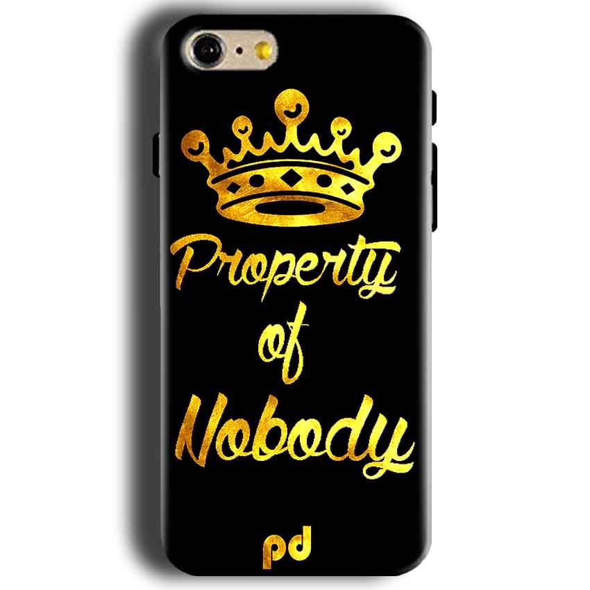Apple iphone 5 5s Mobile Covers Cases Property of nobody with Crown - Lowest Price - Paybydaddy.com