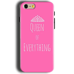 Apple iphone 5 5s Mobile Covers Cases Queen Of Everything Pink White - Lowest Price - Paybydaddy.com