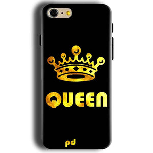 Apple iphone 5 5s Mobile Covers Cases Queen With Crown in gold - Lowest Price - Paybydaddy.com