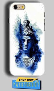 Apple iphone 5 5s Mobile Covers Cases Shiva Blue White - Lowest Price - Paybydaddy.com