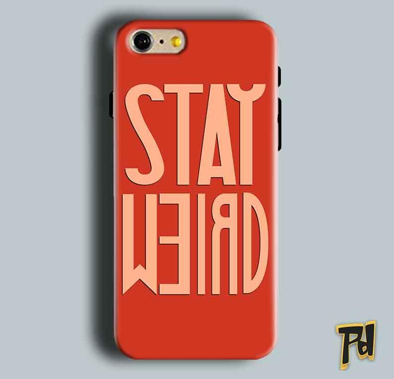 Apple iphone 5 5s Mobile Covers Cases Stay Weird - Lowest Price - Paybydaddy.com