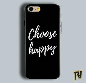 Apple iphone 5 5s Mobile Covers Cases Choose happy - Lowest Price - Paybydaddy.com