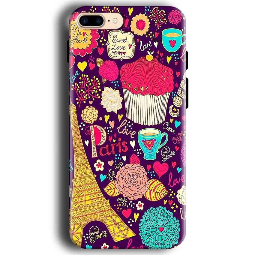 Apple iphone 7 Mobile Covers Cases Paris Sweet love - Lowest Price - Paybydaddy.com