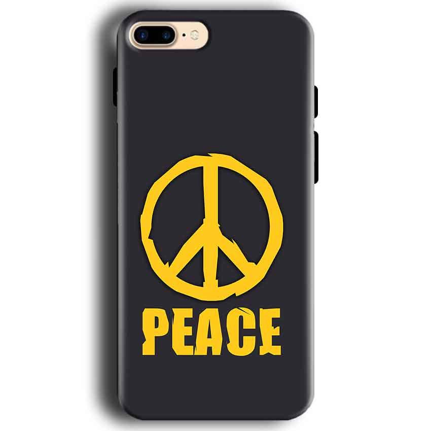 Apple iphone 7 Mobile Covers Cases Peace Blue Yellow - Lowest Price - Paybydaddy.com