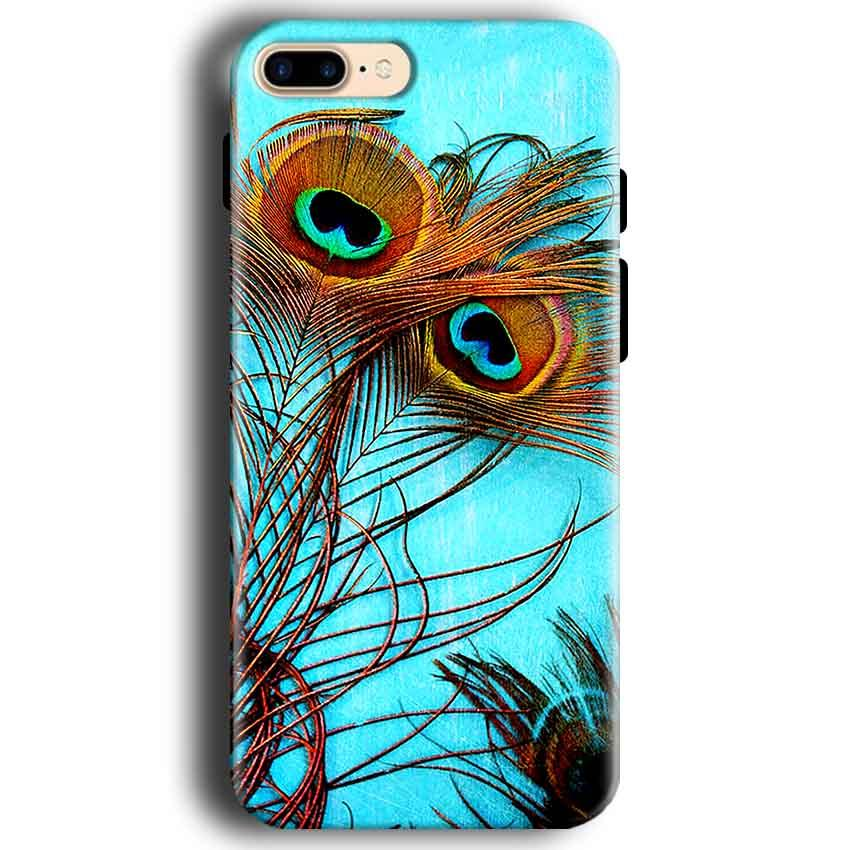 Apple iphone 7 Mobile Covers Cases Peacock blue wings - Lowest Price - Paybydaddy.com