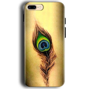 Apple iphone 7 Mobile Covers Cases Peacock coloured art - Lowest Price - Paybydaddy.com