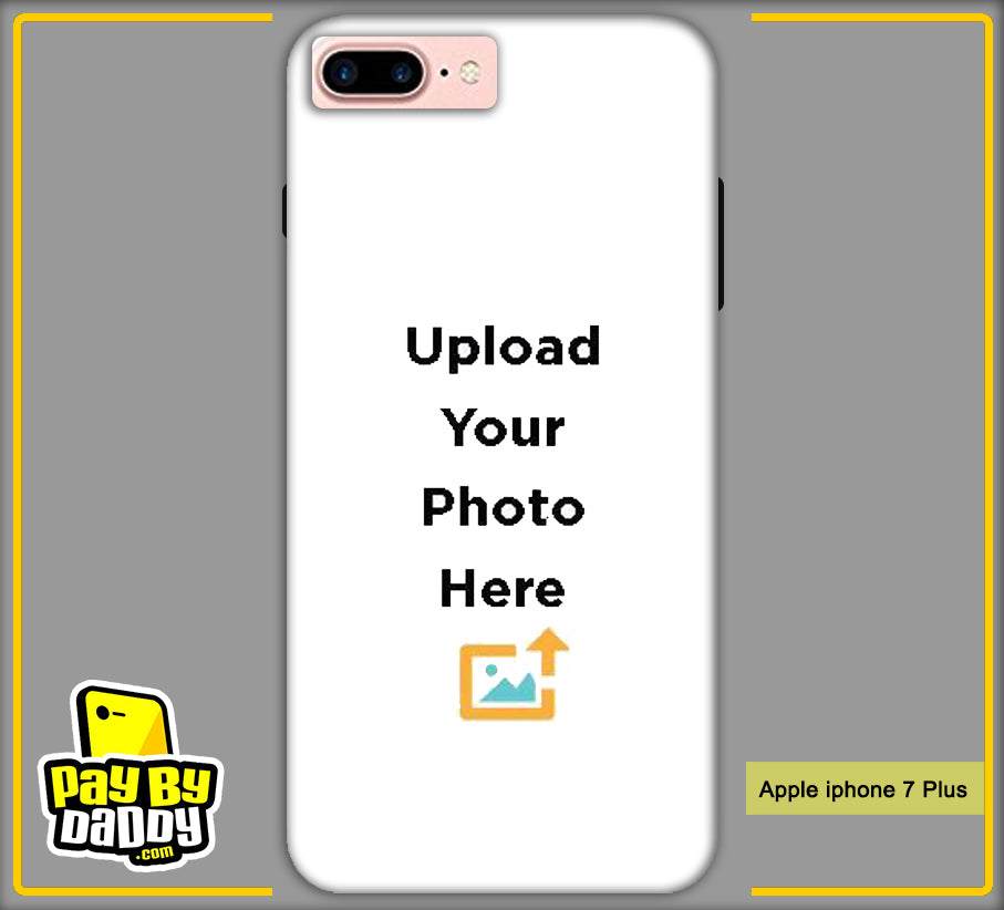 Customized Apple iphone 7 Plus Mobile Phone Covers & Back Covers with your Text & Photo