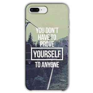 Apple iphone 7 Plus Mobile Covers Cases Donot Prove yourself - Lowest Price - Paybydaddy.com