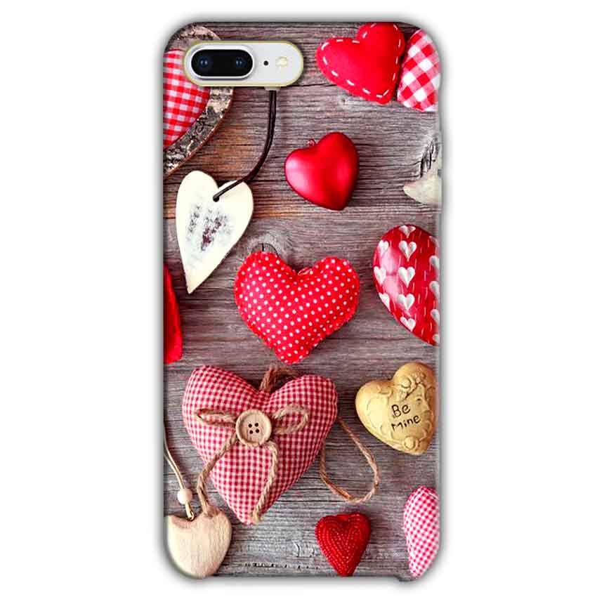 Apple iphone 7 Plus Mobile Covers Cases Hearts- Lowest Price - Paybydaddy.com