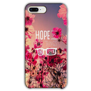 Apple iphone 7 Plus Mobile Covers Cases Hope in the Things Unseen- Lowest Price - Paybydaddy.com