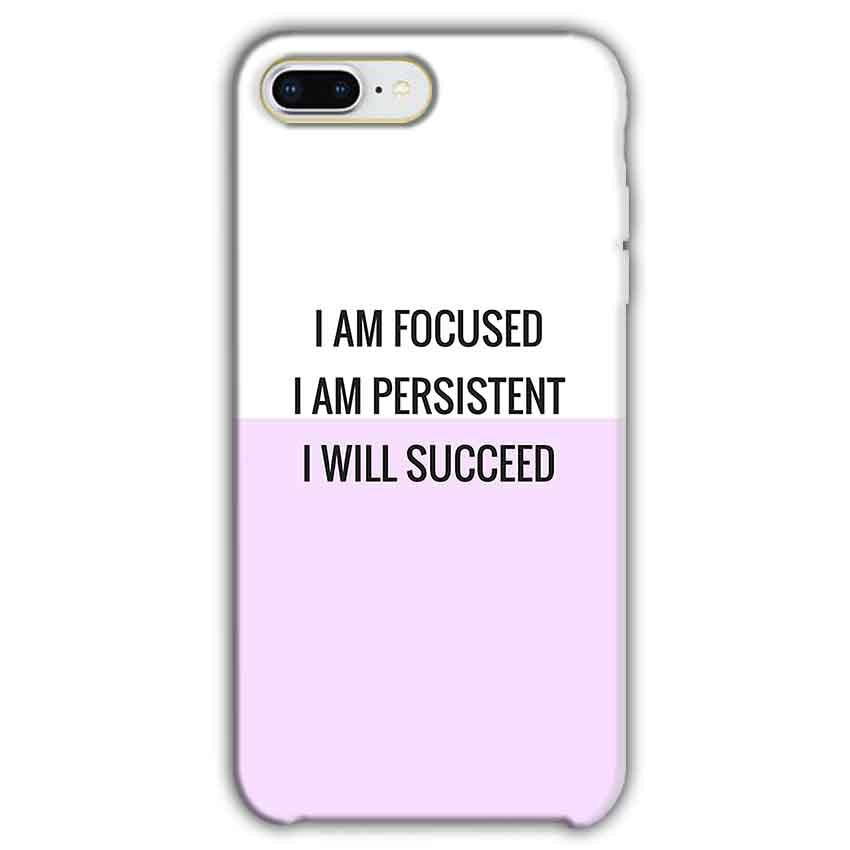 Apple iphone 7 Plus Mobile Covers Cases I am Focused - Lowest Price - Paybydaddy.com