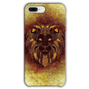 Apple iphone 7 Plus Mobile Covers Cases Lion face art - Lowest Price - Paybydaddy.com