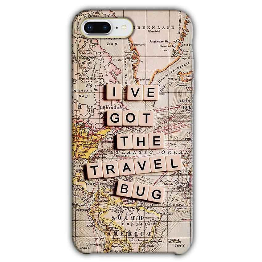 Apple iphone 7 Plus Mobile Covers Cases Live Travel Bug - Lowest Price - Paybydaddy.com