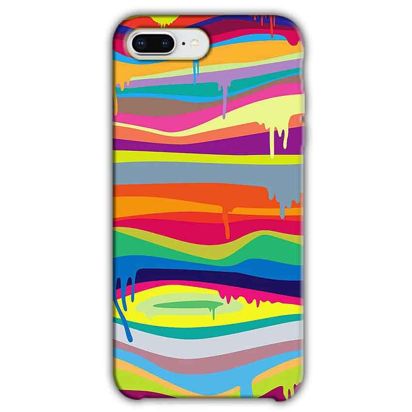 Apple iphone 7 Plus Mobile Covers Cases Melted colours - Lowest Price - Paybydaddy.com