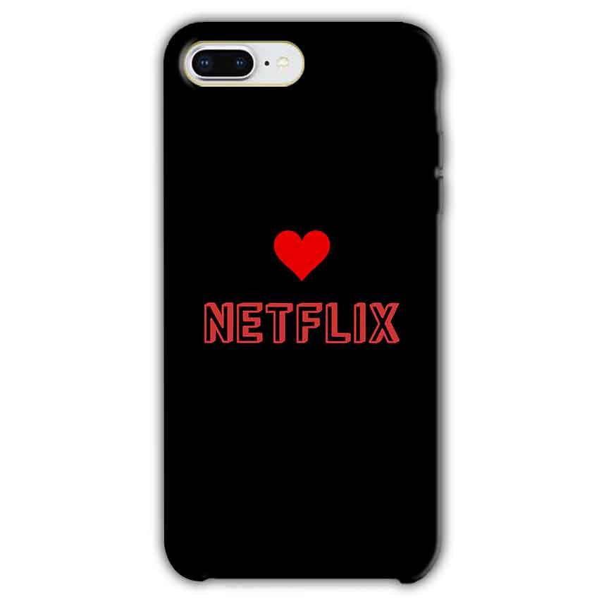 Apple iphone 7 Plus Mobile Covers Cases NETFLIX WITH HEART - Lowest Price - Paybydaddy.com