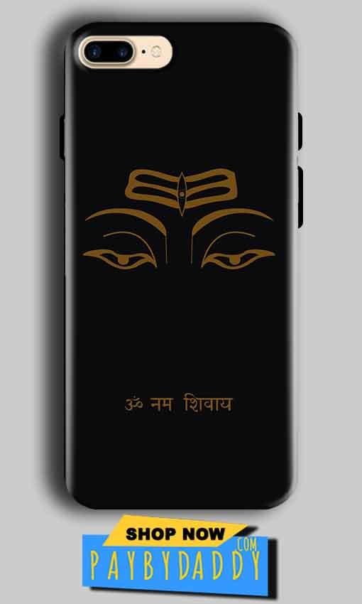Apple iphone 7 Plus Mobile Covers Cases Om Namaha Gold Black - Lowest Price - Paybydaddy.com