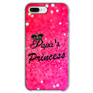 Apple iphone 7 Plus Mobile Covers Cases PAPA PRINCESS - Lowest Price - Paybydaddy.com