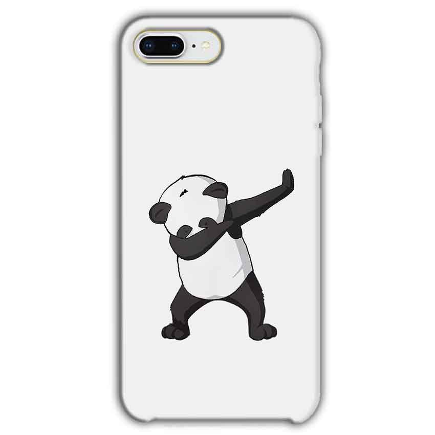 Apple iphone 7 Plus Mobile Covers Cases Panda Dab - Lowest Price - Paybydaddy.com