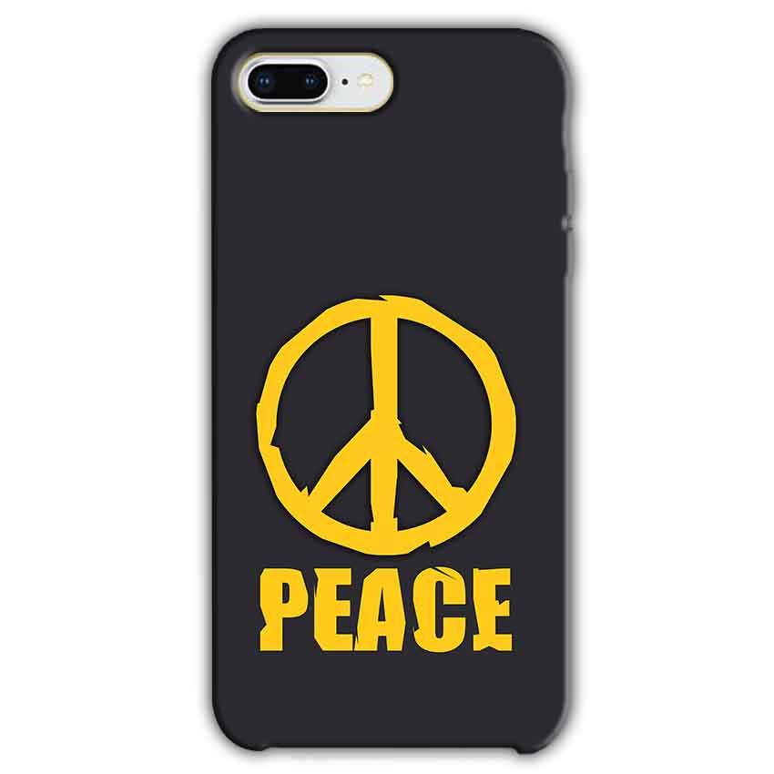 Apple iphone 7 Plus Mobile Covers Cases Peace Blue Yellow - Lowest Price - Paybydaddy.com