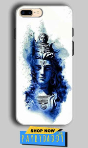 Apple iphone 7 Plus Mobile Covers Cases Shiva Blue White - Lowest Price - Paybydaddy.com