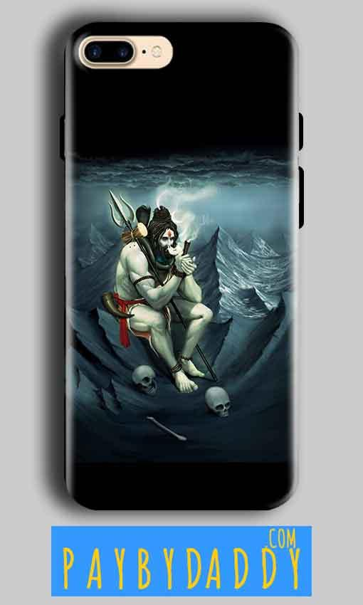 Apple iphone 7 Plus Mobile Covers Cases Shiva Smoking - Lowest Price - Paybydaddy.com